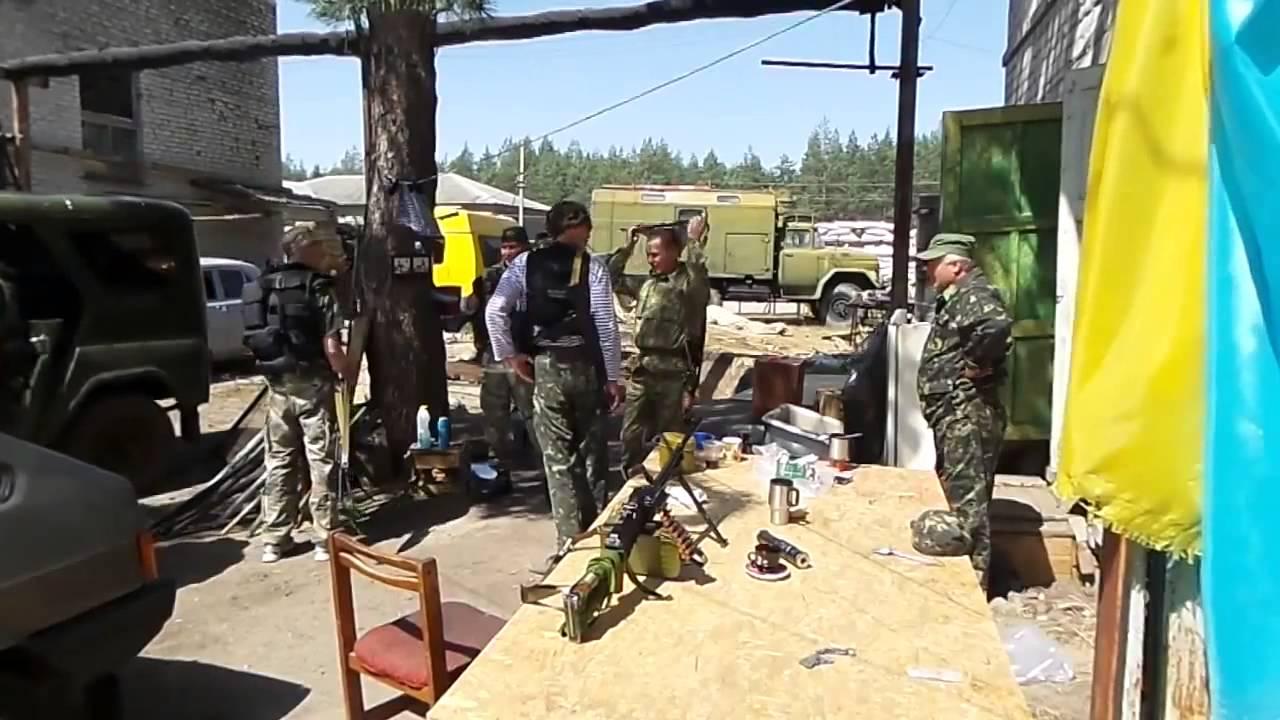 18 Батальон Айдар попал в засаду 5092014