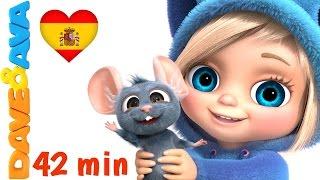 Сanciones Infantiles | Canciones Infantiles en Español de Dave y Ava | Un Dedito thumbnail