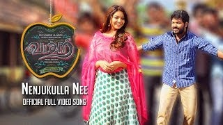 Vadacurry - Nenjukulle Nee (Video Song) | Jai, Swathi Reddy, RJ Balaji | Vivek - Mervin
