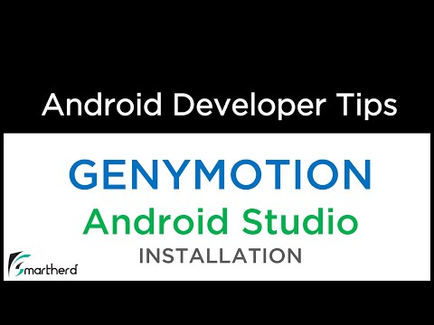 Android Studio  - Install GENYMOTION - Super Fast Emulator And Run Android App On It