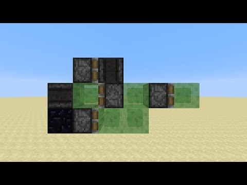 1-Wide Self-Returning Tunnel Bore/Auto-Miner With Observers (Minecraft 1.11)