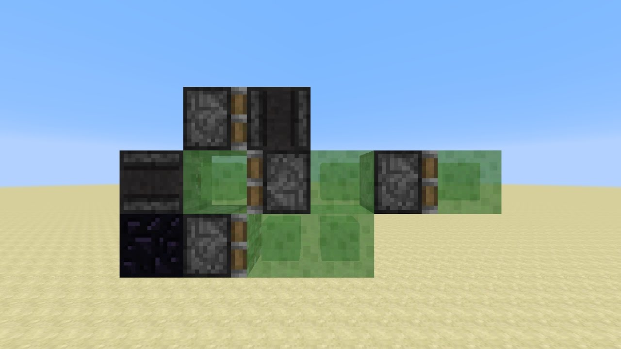 100-Wide Self-Returning Tunnel Bore/Auto-Miner with Observers (Minecraft 100.100100)