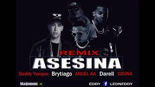 Asesina ( Official Remix) Brytiago FT Anuel AA - Daddy Yankee - Ozuna - Darell (Audio Official)