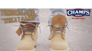 Timberland Wheat Camo w/ On Foot @ChampsSports