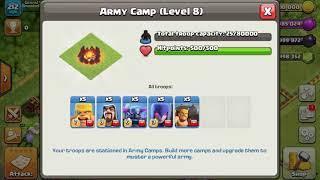 Mase base in clash of clans. Who will be the smartest in clash of clans