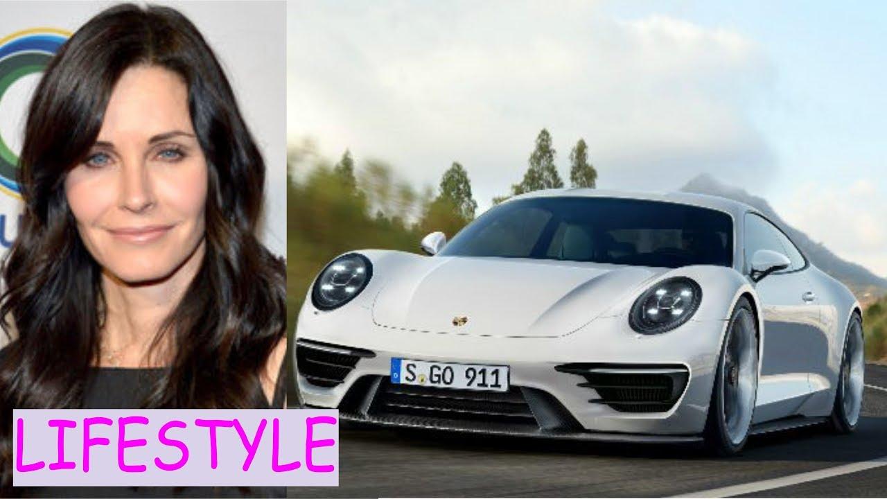 Courteney cox Lifestyle (cars, house, net worth) - YouTube
