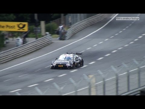 DTM Norisring 2014 - DTM Roll out - No track announcer PURE SOUND