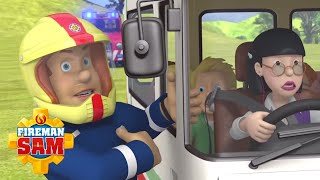 Got to Rescue that Bus! 🚐 Fireman Sam US | Firefighters in Action! 🚒 Cartoons for Children