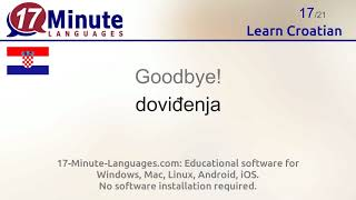 Learn Croatian (Part 2)