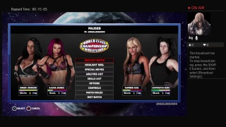 Amber Johnson For RAW  Woman Champions in WWE 2K18 Part 2