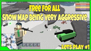 Roblox The Conquerors 3 Free For All Lets Play #1 | Playing Very Aggressive Against Others|