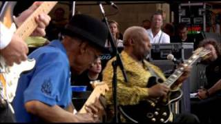 B.B King, Robert Cray Band, Jimmie Vaughan, Hubert Sumlin (Rock me baby)