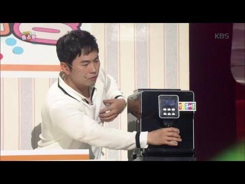 개그콘서트 - '잠깐만 홈쇼핑' 유민상 커피머신에는 침뱉기 기능이?!15