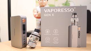 Vaporesso Gen X M๐d Full CNC Aluminium