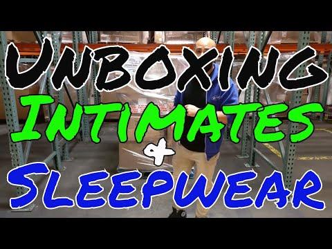 UNBOXING: Shelf Pull Branded Intimates & Sleepwear Lots