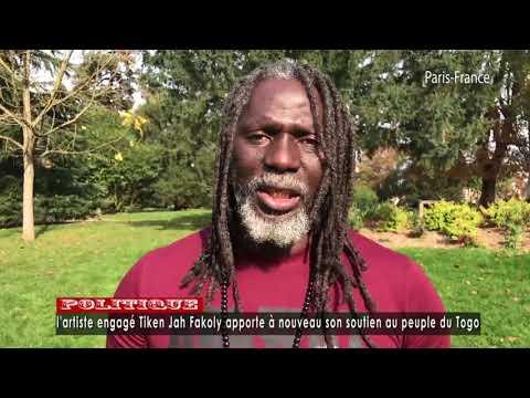 Tiken Jah Fakoly apporte à nouveau son soutien au peuple du Togo