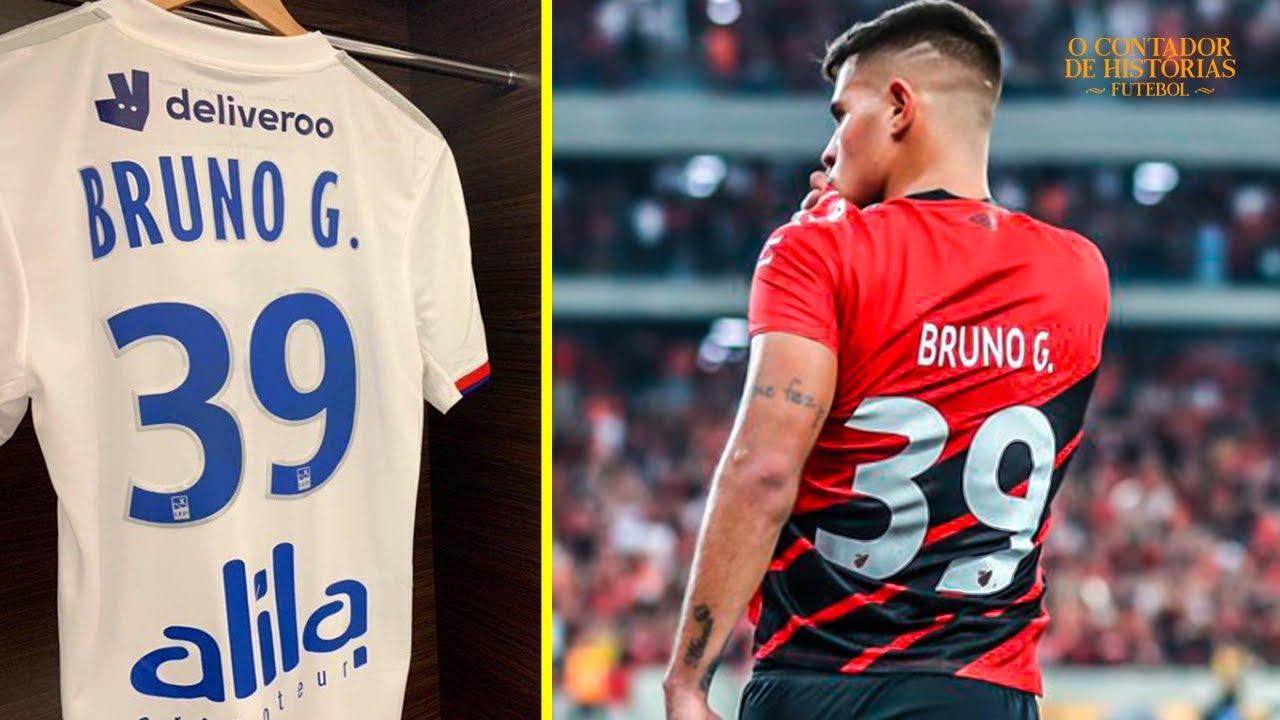 A história por trás da camisa 39 de Bruno Guimarães