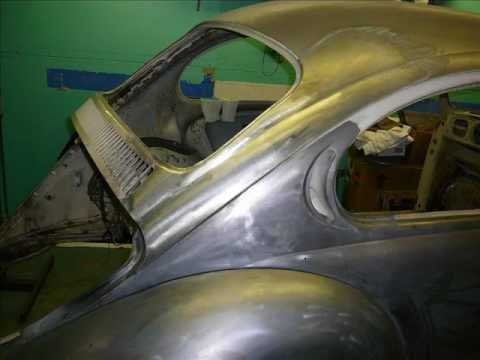 1972 Vw Beetle Restoration Rear Quarter Rust Repair