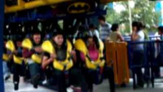 re-integra six flags batman en silla de ruedas-batman on wheelchair