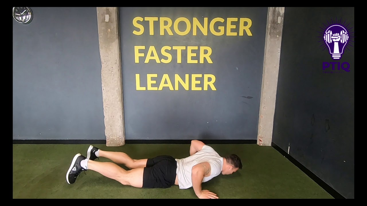 Chest To Floor Burpees Youtube