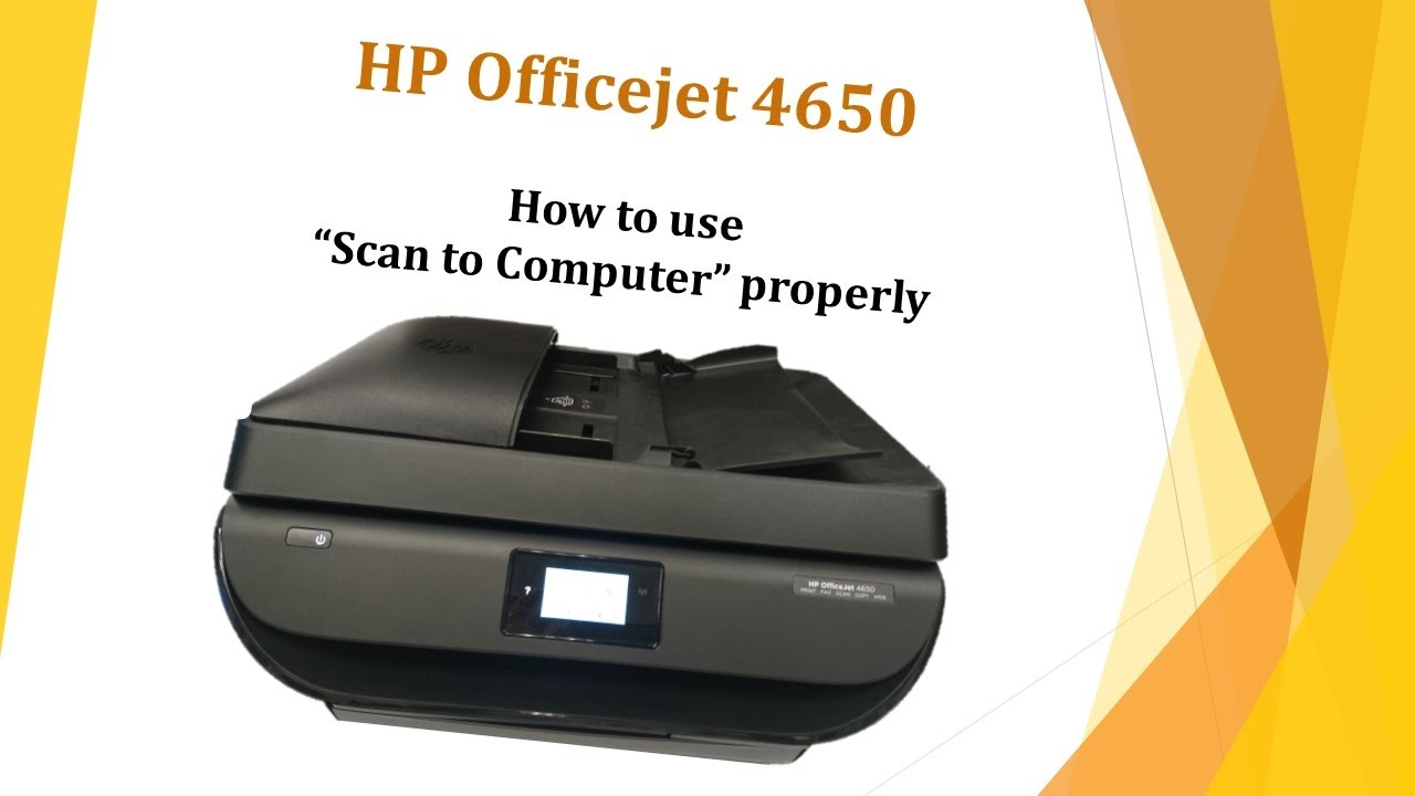 HP Officejet 4650: How to use