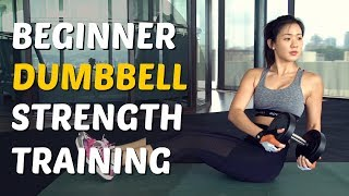 How to Lift Dumbbells to Lose Weight & Lean Up | Gym Training | Joanna Soh