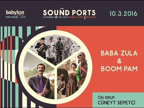 Baba Zula - Live in Babylon - Sound Ports (İstanbul) 10.03.2016