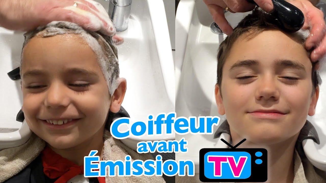 Vlog Coiffeur Parisien Pour Swan Et Néo Avant émission Tv