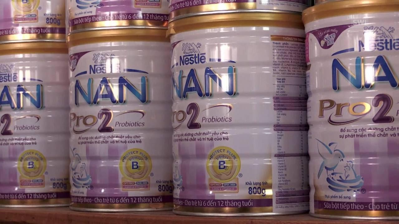 Молочные смеси от Нестле за и против