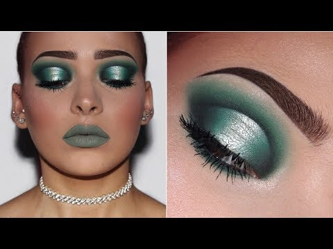 Forest Green Halo Eye | Makeup Tutorial