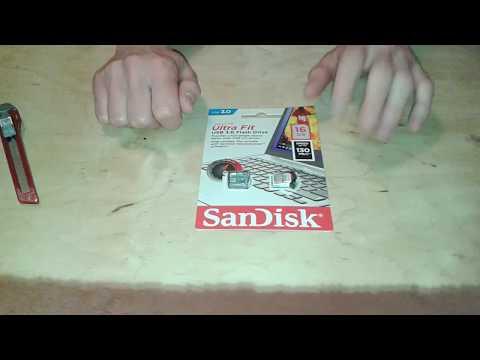 Флешка SanDisk 16 GB USB 3.0 Ultra Fit (SDCZ43-016G-GAM46) - огляд / Unboxing Usb Flash