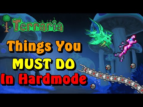 Things you MUST DO after entering Hardmode in Terraria!