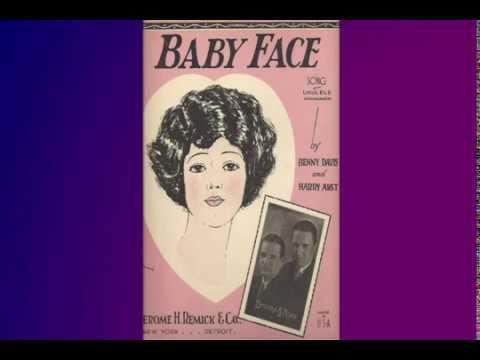 Baby Face  sing - along with lyrics