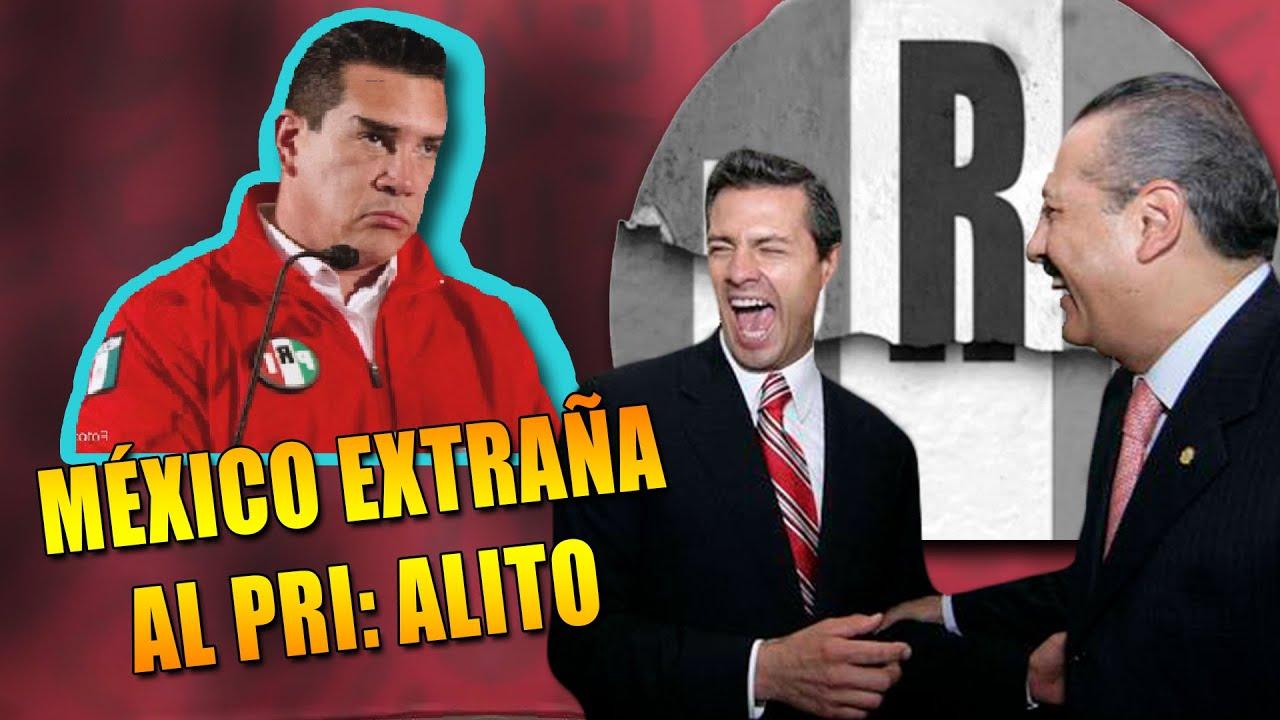 ¡PAREN TODO! MÉXICO EXTRAÑA LA FORMA DE GOBERNAR DEL PRI, SUS PROGRAMAS Y SU TODO: ALEJANDRO MORENO