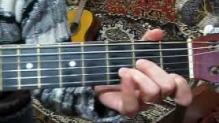 """""""У беды глаза зелёные"""" как играть на гитаре Виктория Юдина"""
