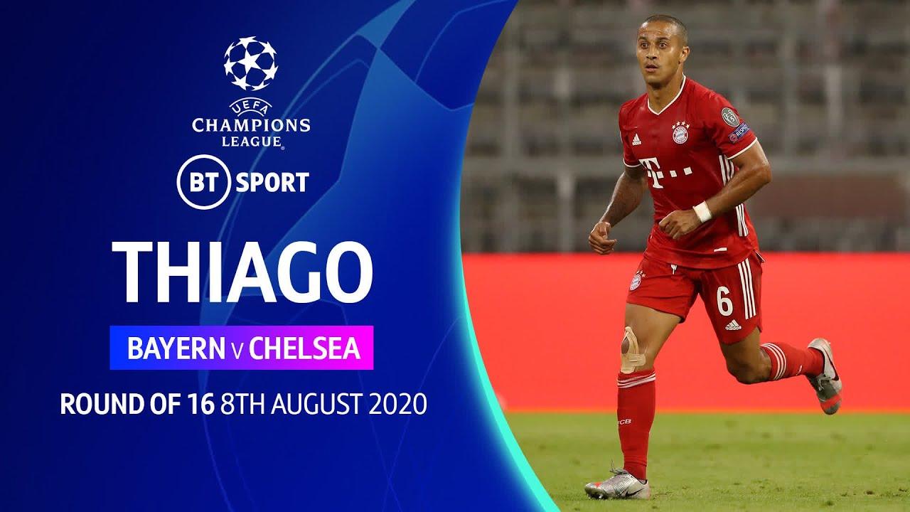Thiago, Bayern vs Chelsea (2020) | Champions League player highlights