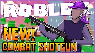 using the new combat shotgun is like cheating... (roblox strucid)