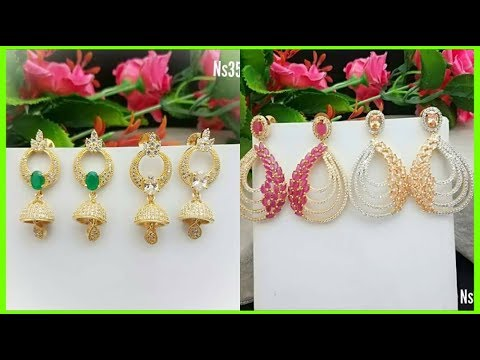 colourful-stone-work-earrings-designs-for-bridal-exclusive