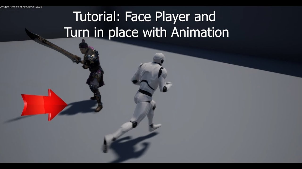 Get an AI to rotate towards the player on UE4