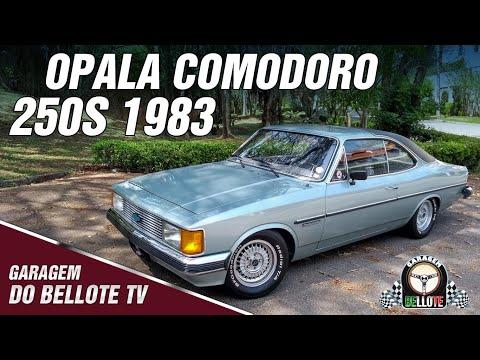 Acelerando o Opala Comodoro 250-S 1983 | Garagem do Bellote TV