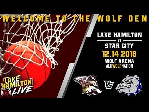 Lake Hamilton Wolves Varsity Basketball Vs. Star City Bulldogs | December 14, 2018