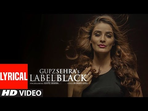 Label Black (Full Lyrical Song) Gupz Sehra | Latest Punjabi Songs | T-Series Apna Punjab