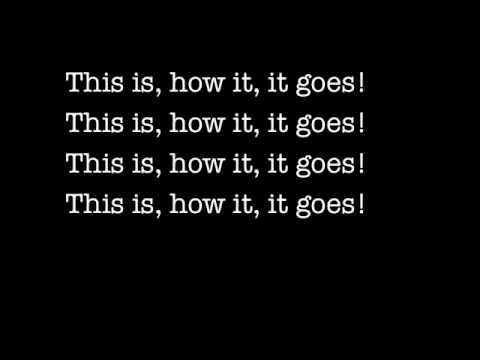 Billy Talent - This Is How It Goes LYRICS