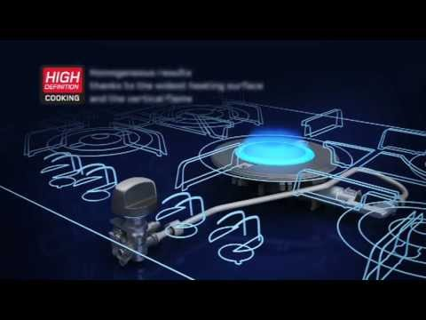 Luce by hotpoint direct flame technology explained youtube for Direct flame