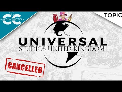 THE UK UNIVERSAL STUDIOS THAT WAS NEVER BUILT! ft. Coaster Bot, DealWithTheSeal and Theme Park Rhys