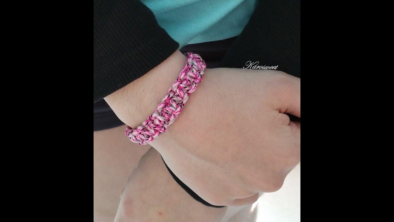 Connu Tuto DIY : bracelet en paracorde #1 - YouTube RC91