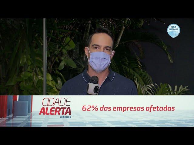 Impactos da pandemia: 62% das empresas afetadas