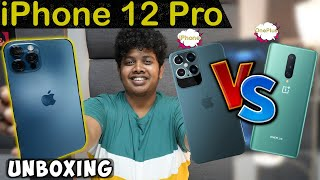 iPhone 12 Pro Unboxing – iPhone and One Plus Camera Comparison | Irfan's view