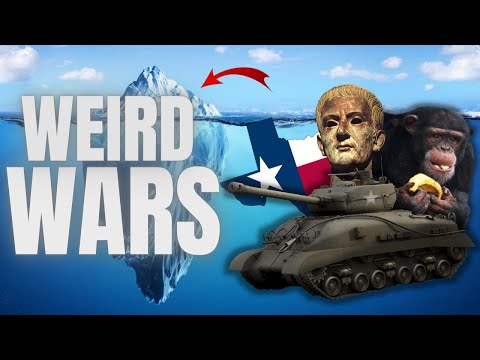 The Weird Wars In History Iceberg Explained