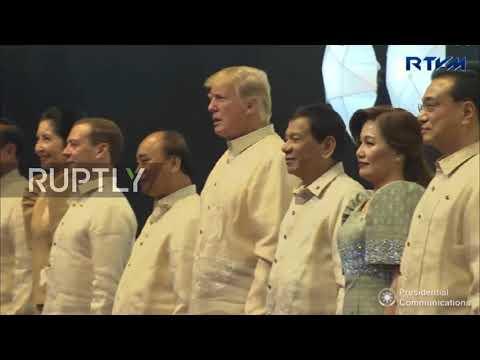 Philippines: Duterte greets Medvedev as ASEAN kicks off